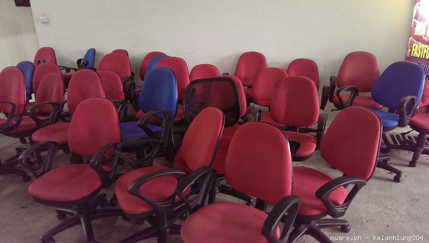 thu mua thanh lý ghế xoay cũ , ghế văn phòng cũ docuhaiphong