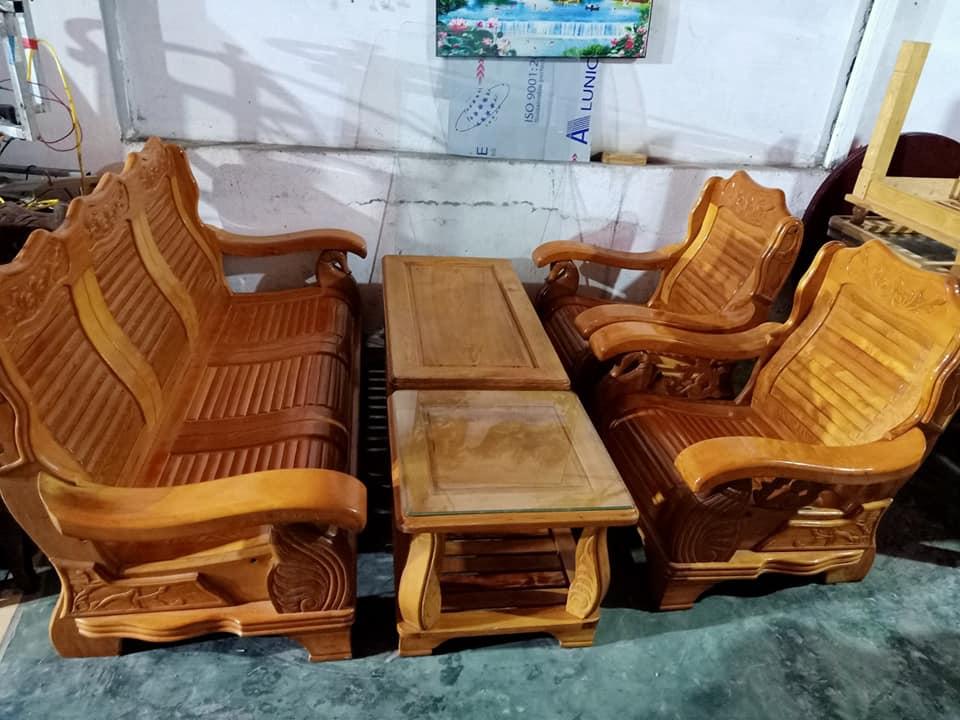 bàn ghế phòng khách cũ hải phòng - đồ cũ hoàng quỳnh - docuhaiphong.vn - 0913040613