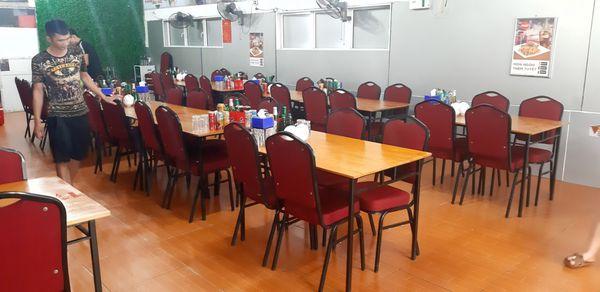 bàn ghế nhà hàng thanh lý hải phòng
