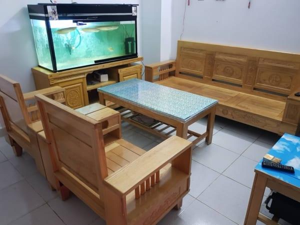 thanh lý đồ cũ hải phòng - mua bàn ghế gỗ cũ