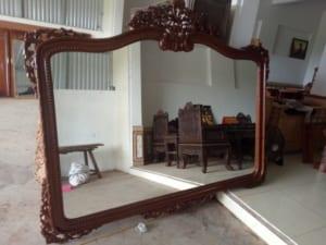 thanh lý gương cũ hải phòng