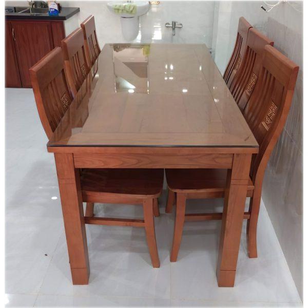 bàn ăn 6 ghế gỗ cũ | docuhaiphong.vn | 0913040613