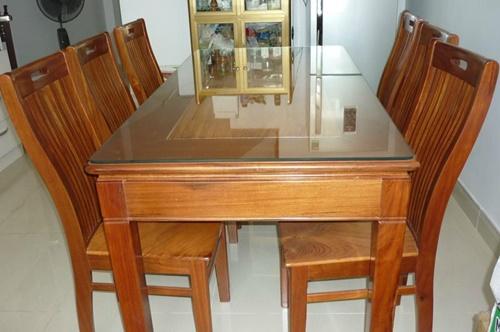 bàn ăn 6 ghế cũ hải phòng 0913040613