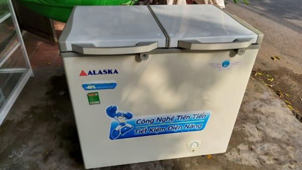 tủ đông alaska 250 lít 2 ngăn