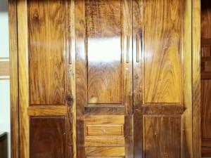 tủ quần áo gỗ lát cũ hải phòng