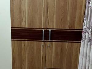 tủ quần áo gỗ mdf giả vân cũ