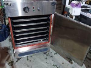 Tủ nấu cơm công nghiệp 6 khay cũ