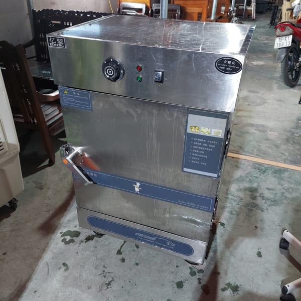Tủ nấu cơm công nghiệp 6 khay thanh lý