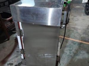 Tủ nấu cơm công nghiệp cũ