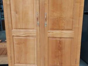 tủ quần áo gỗ sồi nga cũ 2 cánh