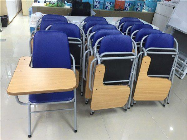 bàn ghế gấp liền bàn học sinh cũ hải phòng thanh lý
