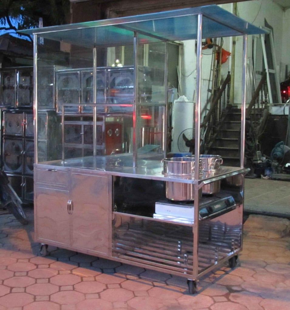 thanh lý xe đẩy cũ bán hàng Hải Phòng