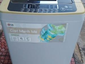 máy giặt lg cửa trên 8kg cũ hải phòng