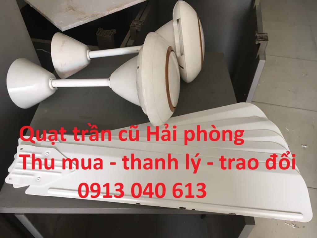 thanh lý quạt trần cũ hải phòng - docuhaiphong - 0913040613